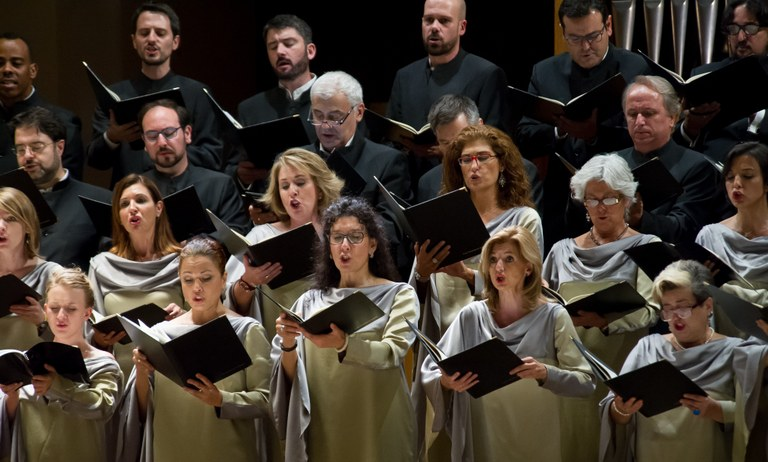 Componentes del Coro Nacional de España